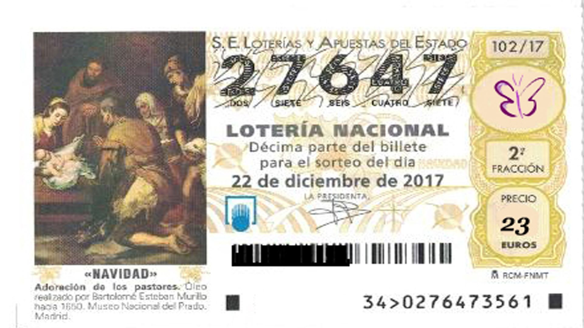 Lotería Navidad – Asociación Lupus Málaga y Autoinmunes