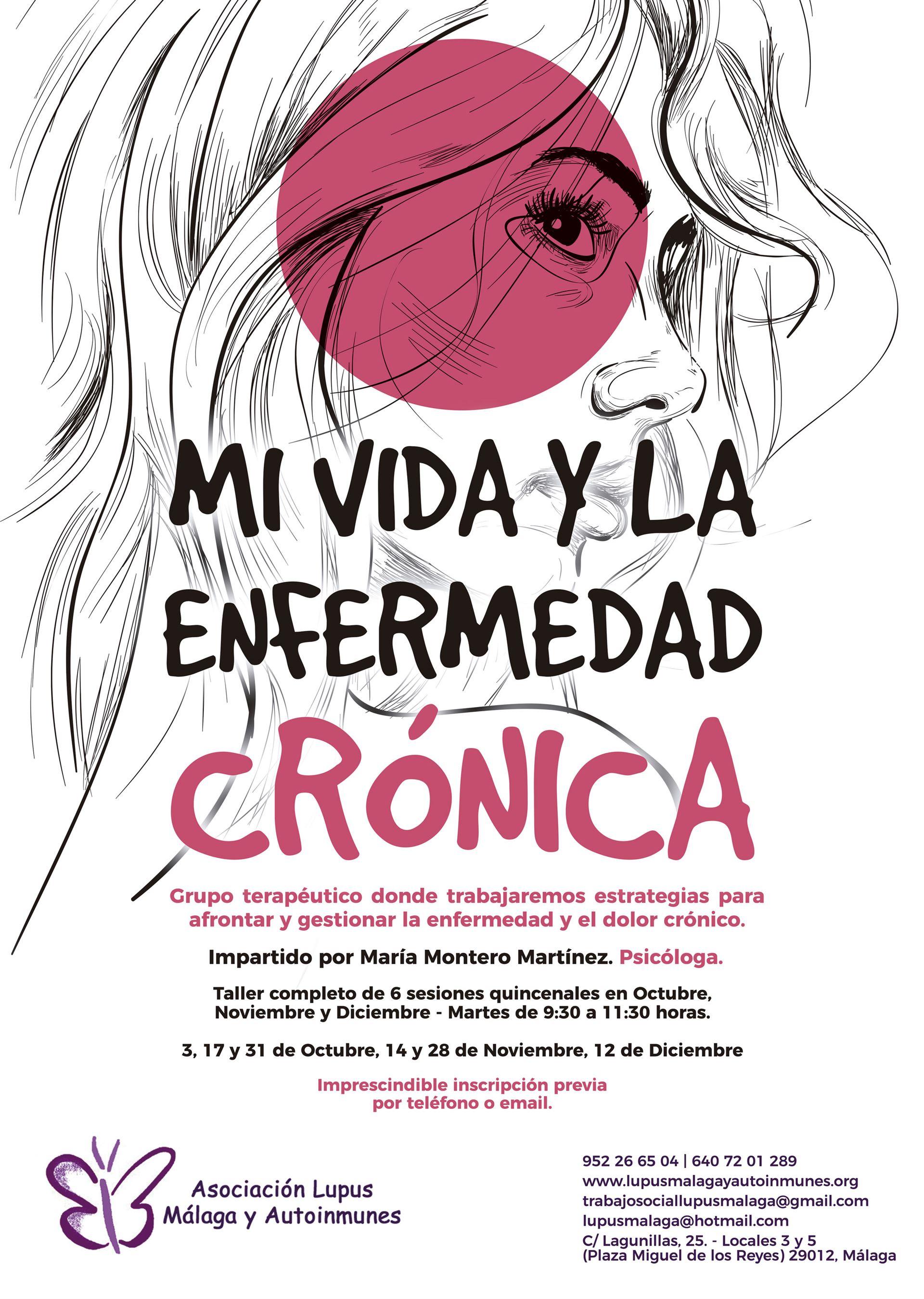 """Taller """"Mi Vida y La Enfermedad Crónica"""""""
