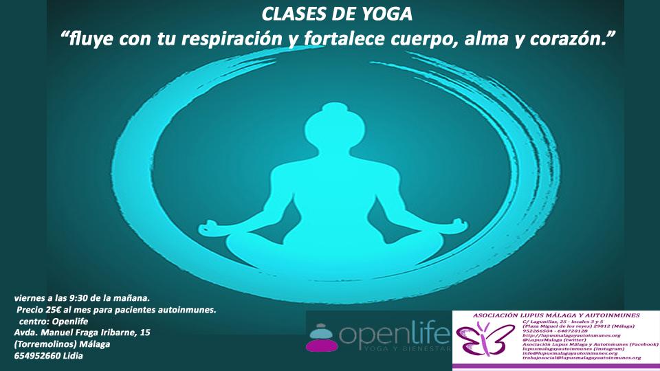 Clases de Yoga en OpenLife