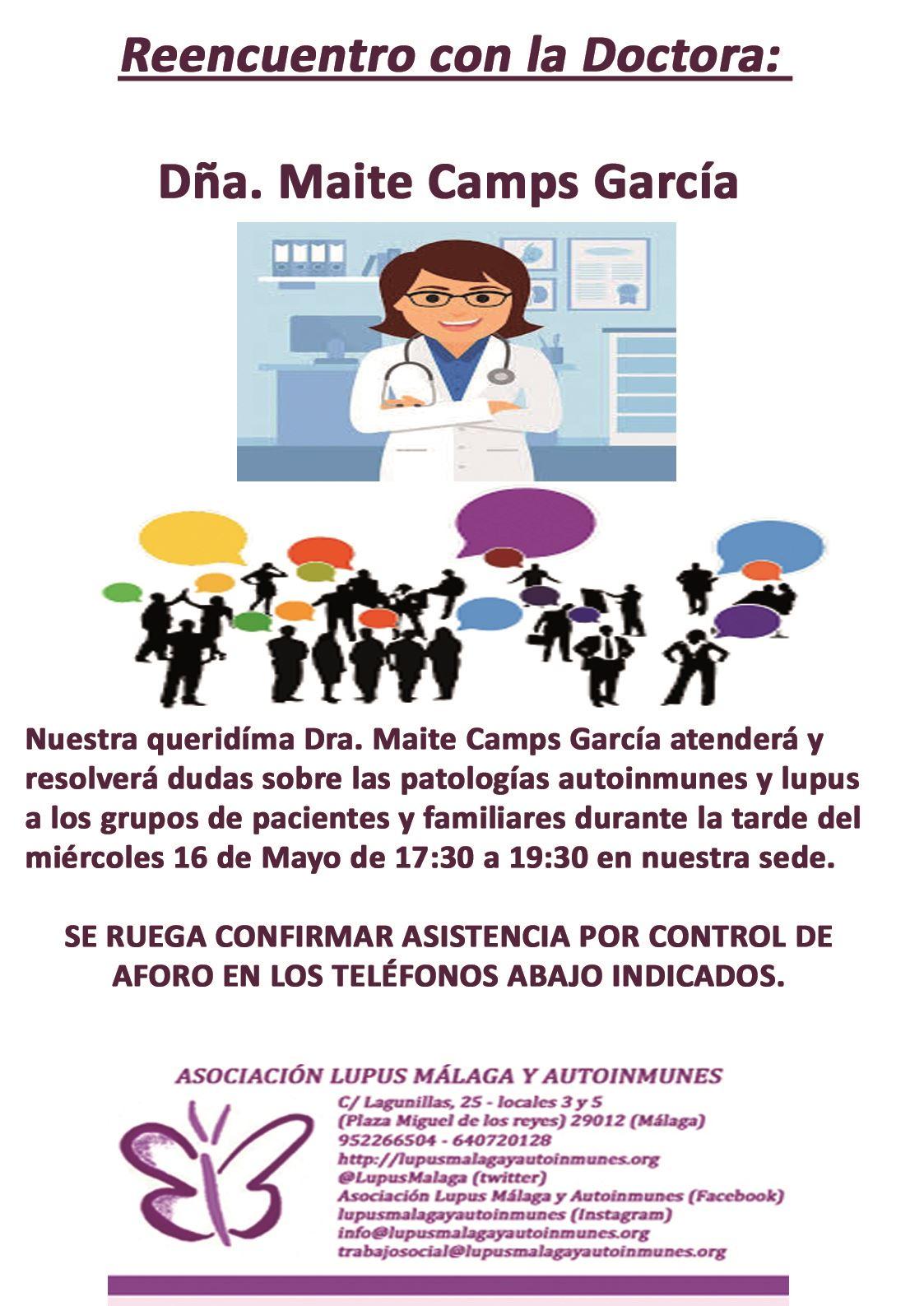 """""""II Reencuentro con la Dra. Maite Camps"""""""