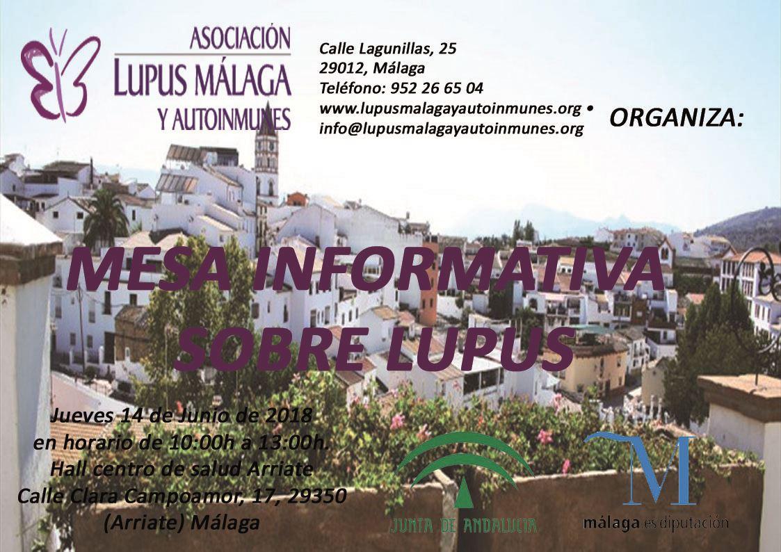 Mesas informativas Arriate y Cortés de la Frontera