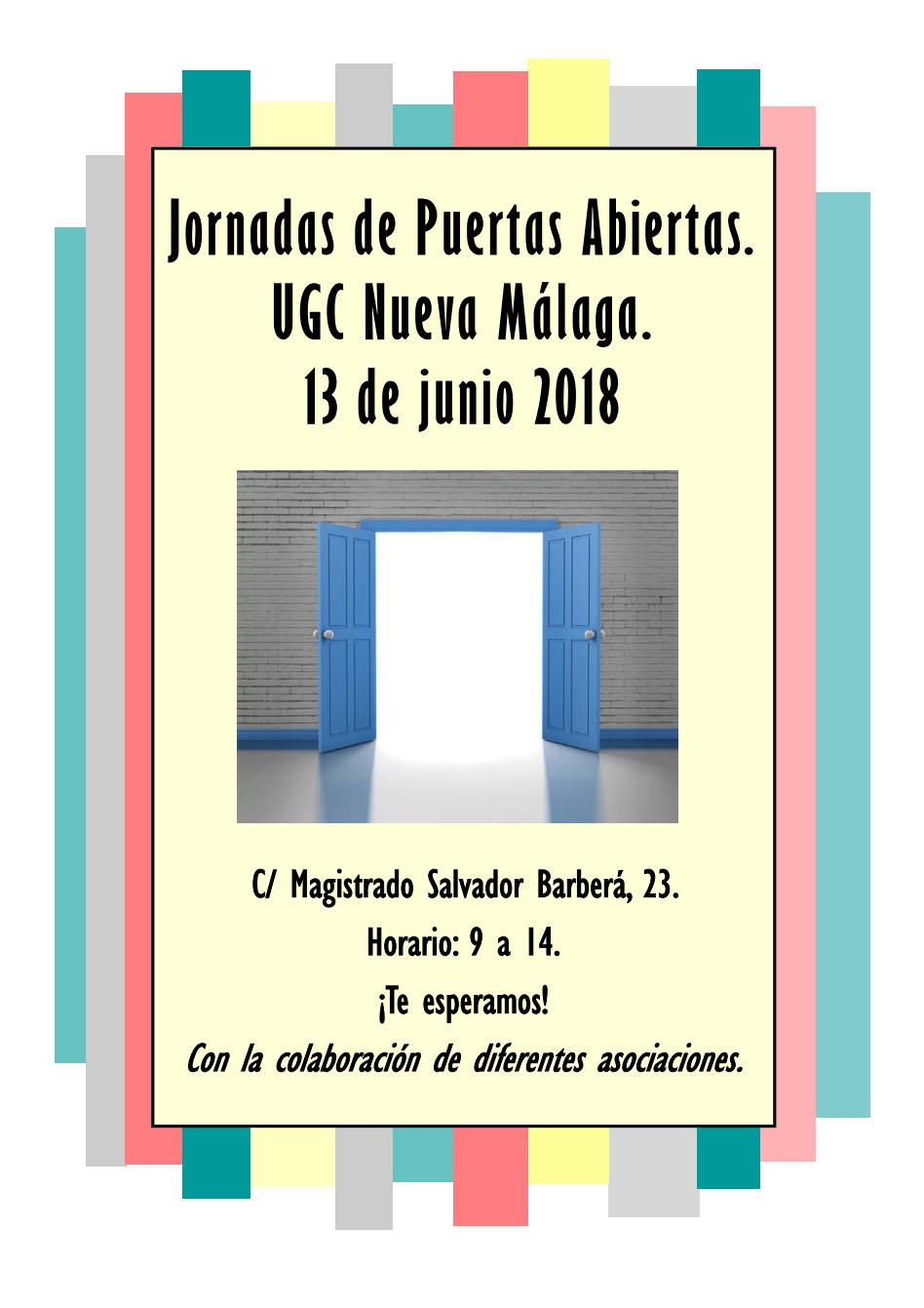 Mesa Informativa – Ctro. salud Nueva Málaga