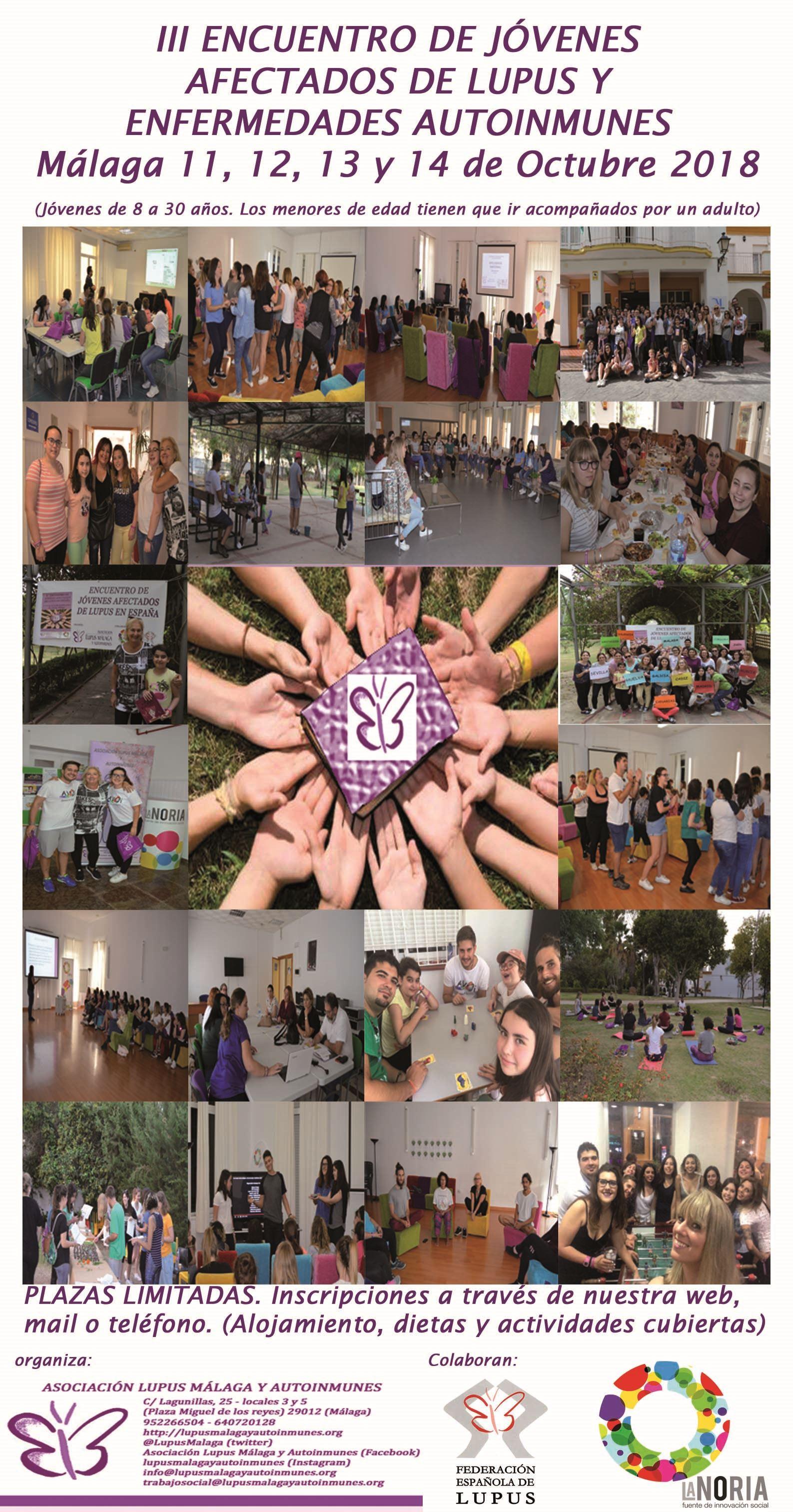 III Encuentro de Jóvenes afectados de Lupus y Autoinmunes