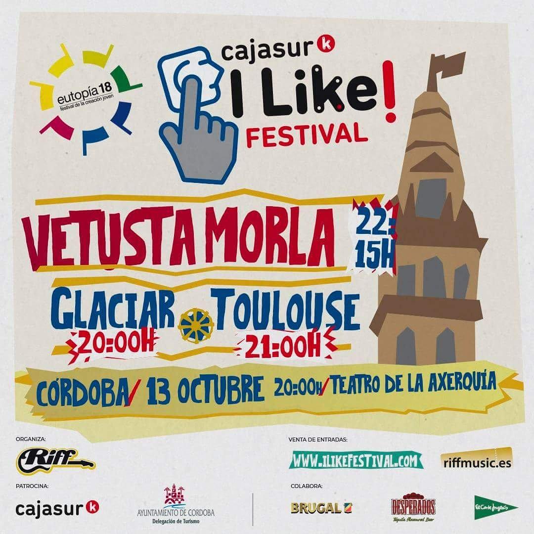 Actuación de Glaciar en el I Likefest a Beneficio de Lupus Málaga en Córdoba