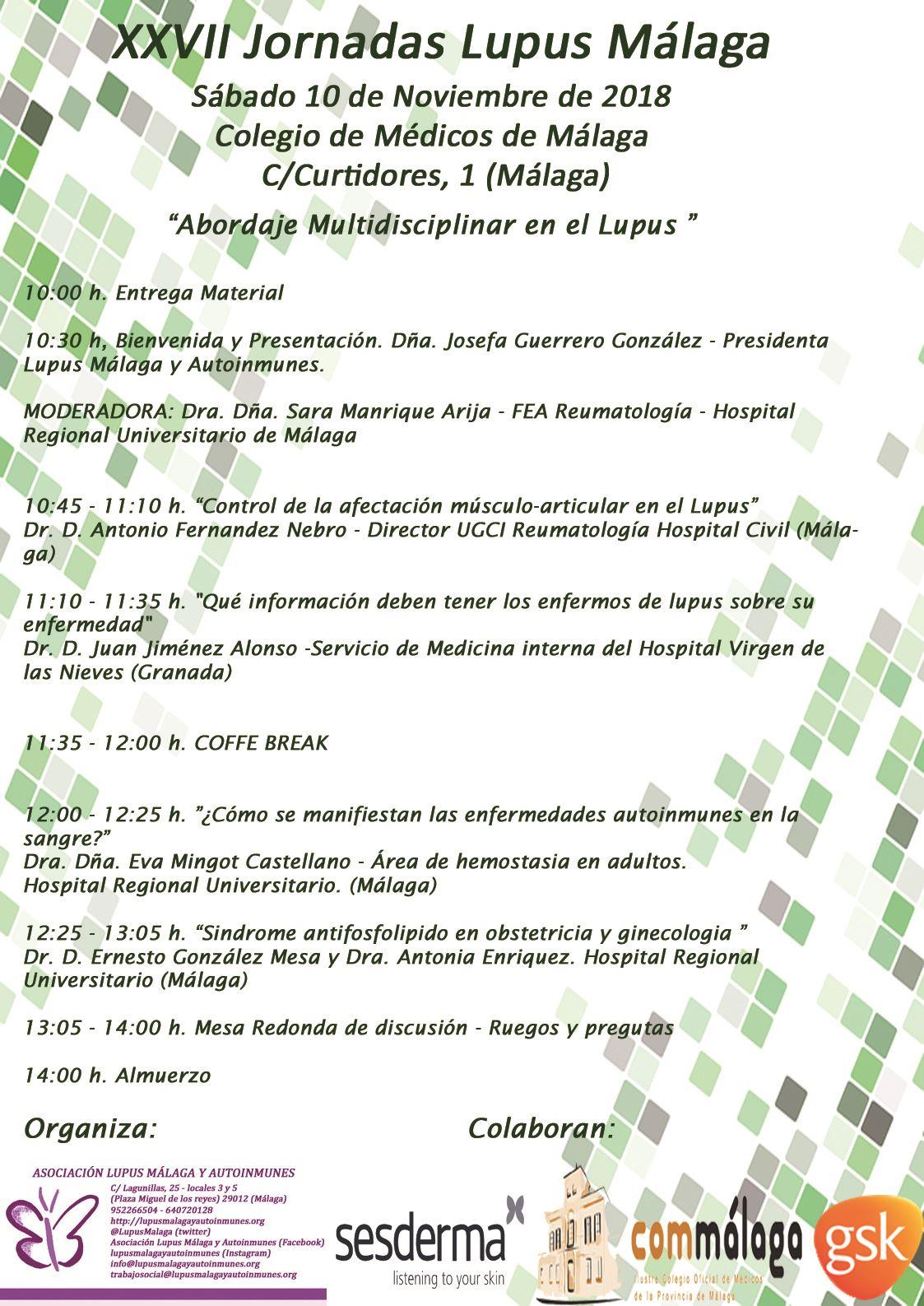 XXVII Jornadas Lupus Málaga