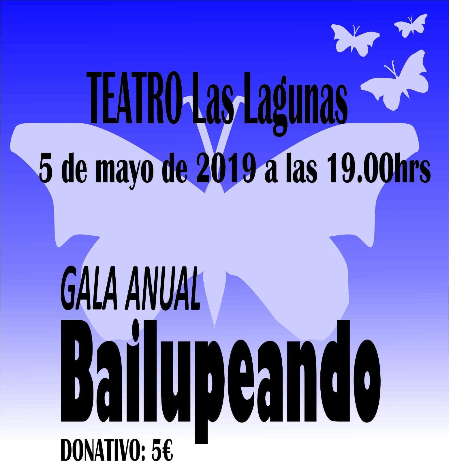 Gala Bailupeando  5 de Mayo de 2019