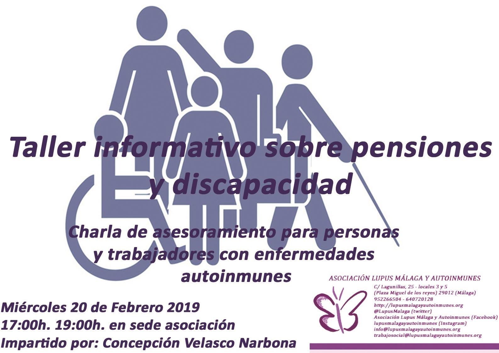 Charla sobre Discapacidad y Pensiones