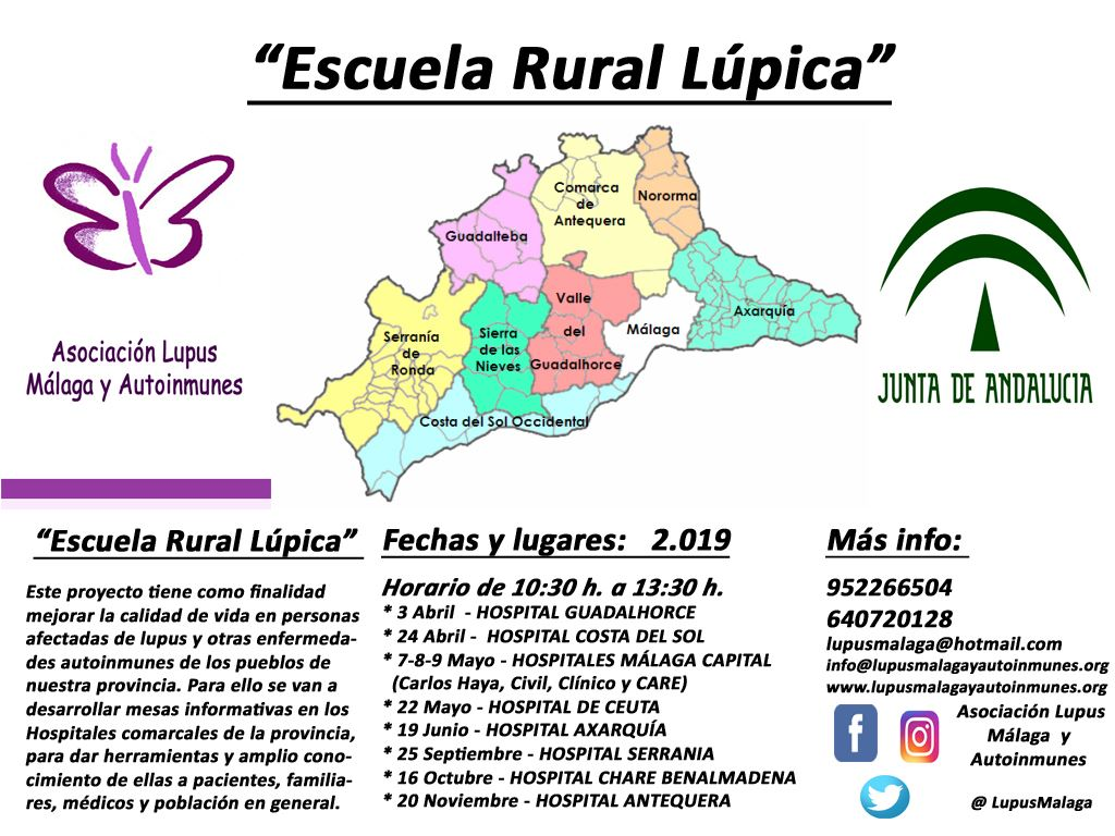 """Mesas informativas 2019 – Proyecto """" Escuela Rural Lúpica"""""""