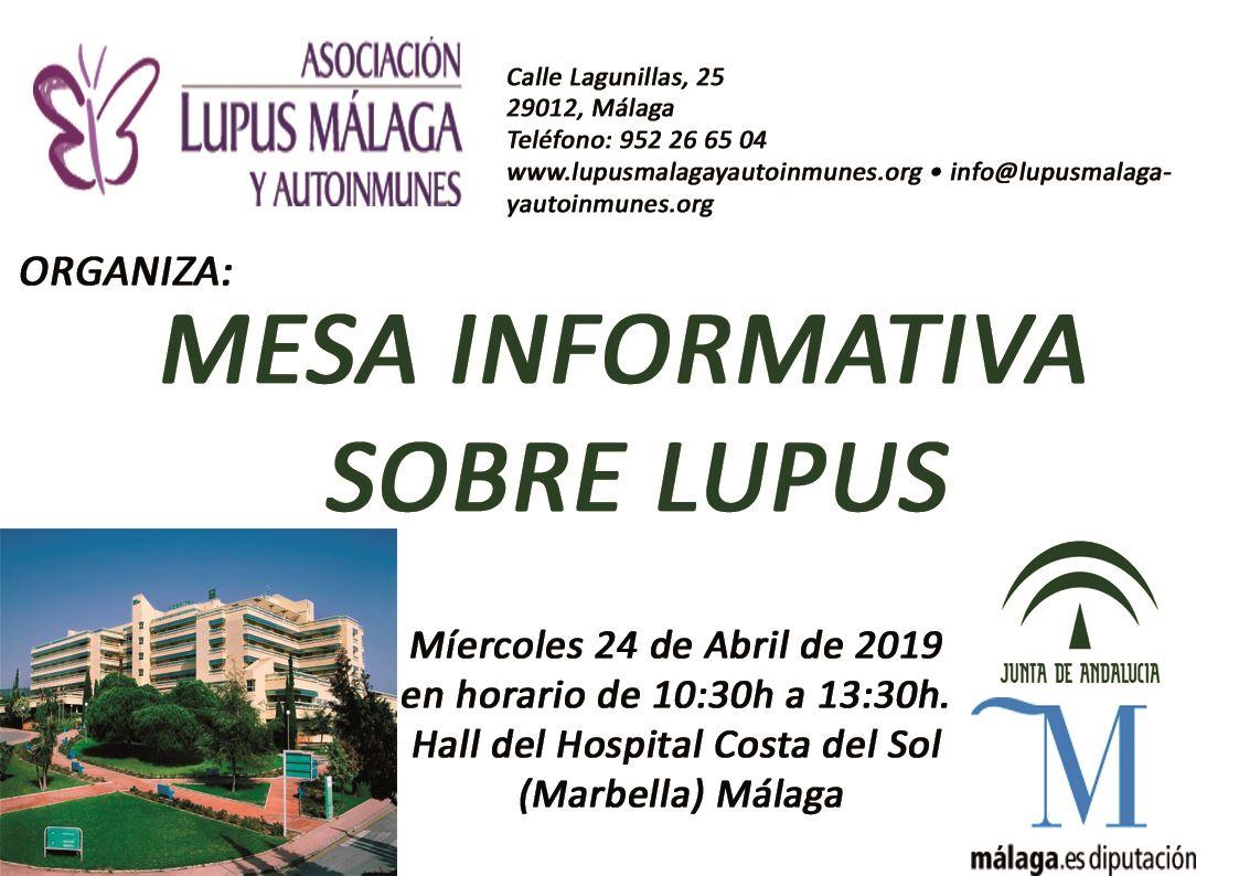 Mesa Informativa 24 de Abril – Hospital Costa del Sol