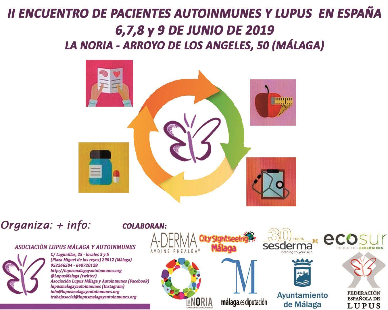 II Encuentro Autoinmunes y Lupus en Málaga – Enlace de Inscripción