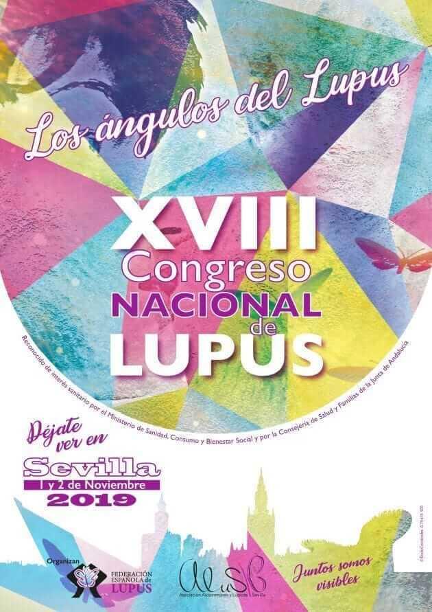 """XVIII Congreso Nacional de Lupus """"Los ángulos del Lupus"""""""