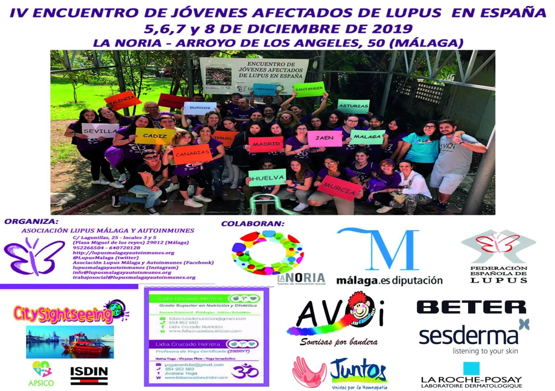 IV Encuentro de jóvenes afectados de Lupus en España