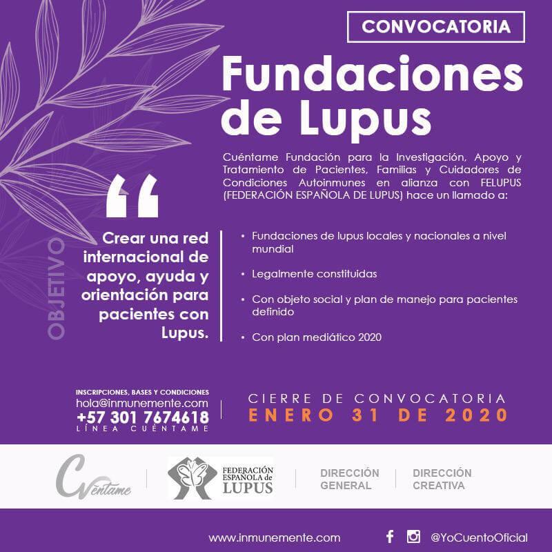 Proyecto Juntos Frente al LUPUS! CUÉNTAME