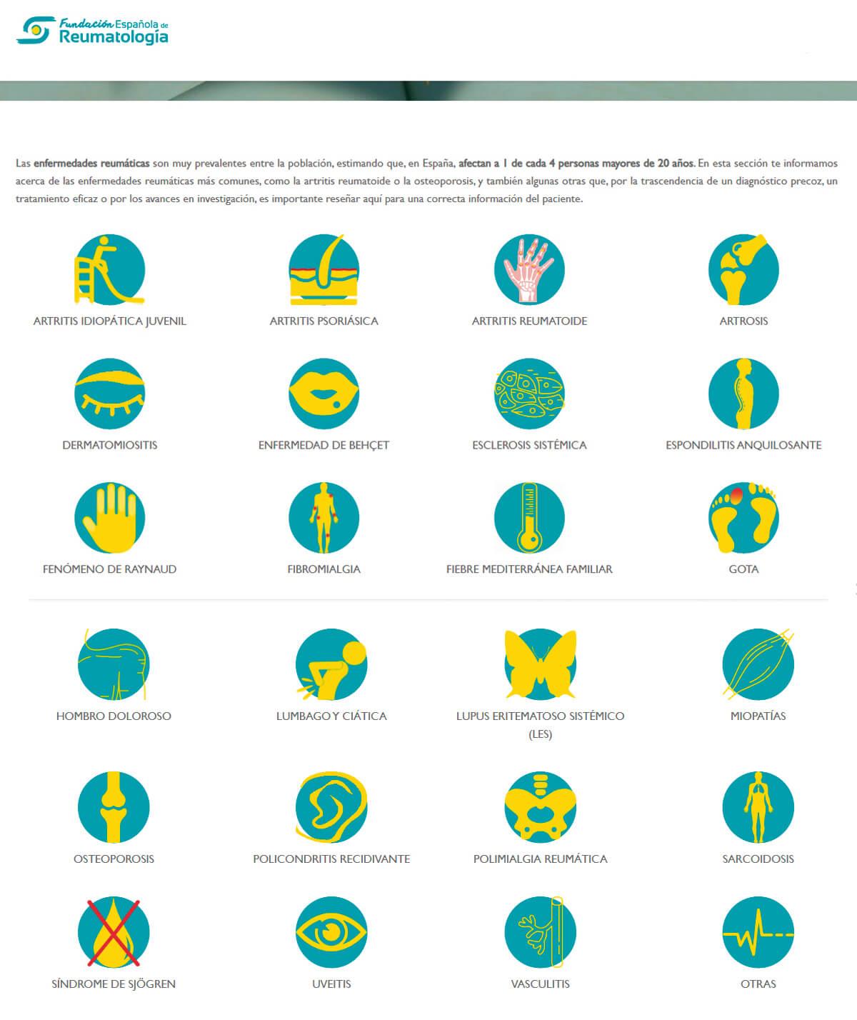 Guías para pacientes con enfermedades reumáticas