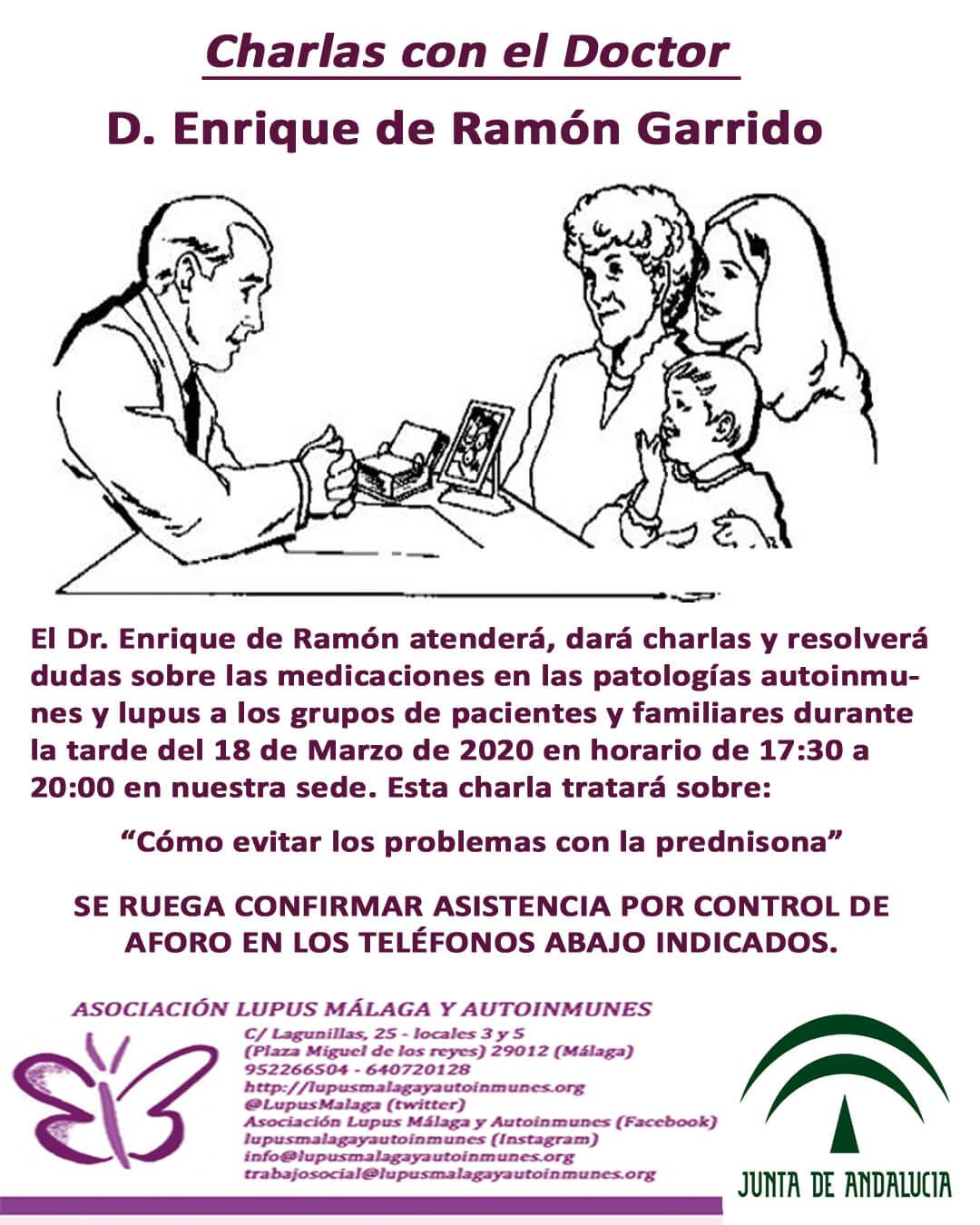 Charlas con el Dr. Enrique de Ramón