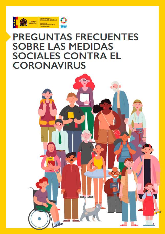 Medidas sociales contra el coronarivus adoptadas por el gobierno de España