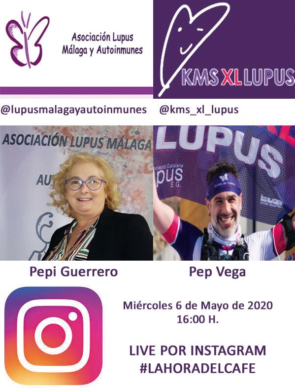 #LAHORADELCAFE Directo de instagram con Pep Vega KM X EL LUPUS