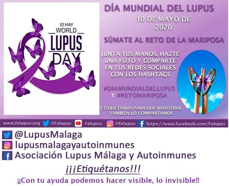 Únete al Reto Mariposa – Día Mundial del Lupus
