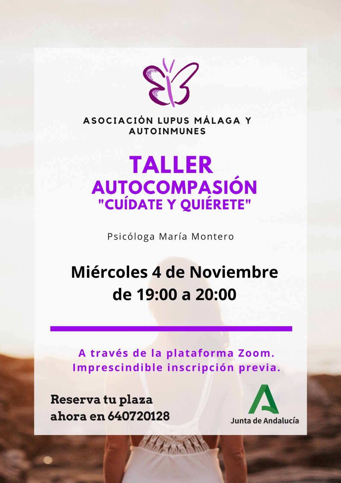 """Taller: Autocompasión """"Cuídate y Quiérete"""""""