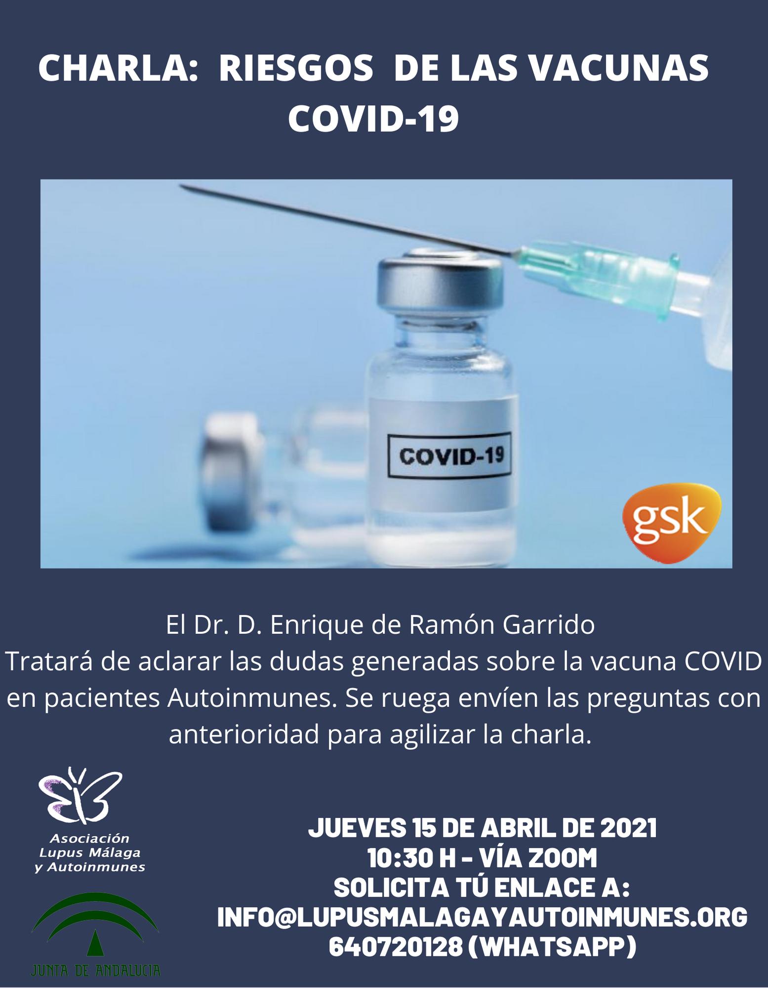 Charla: Riesgos de la Vacuna COVID-19