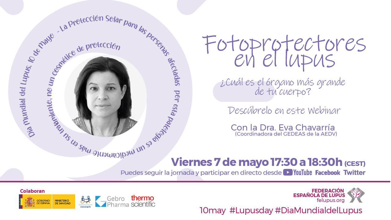 Webinar: Fotoprotectores en el Lupus
