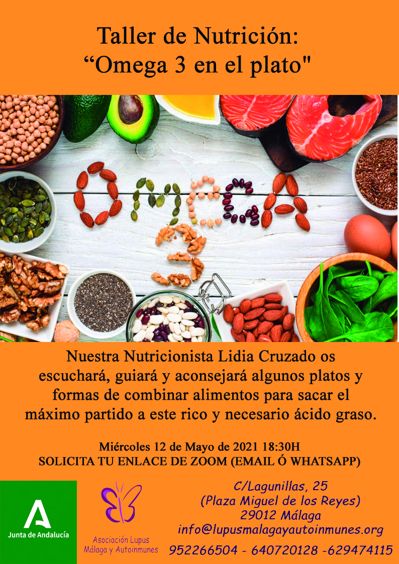 Taller de Nutrición – Omega 3 en el plato