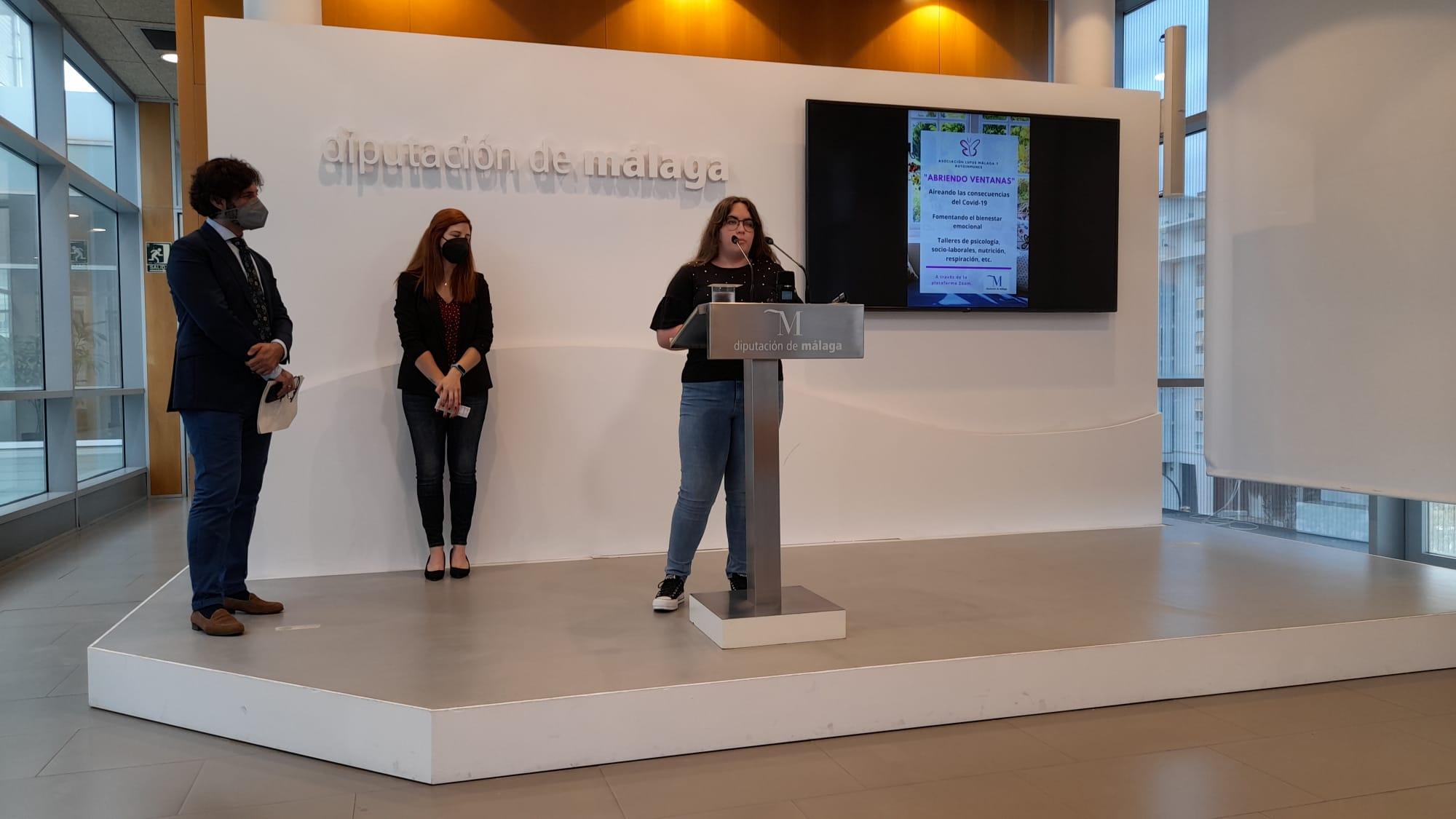 """Presentación en Diputación del Proyecto """"Abriendo Ventanas"""""""