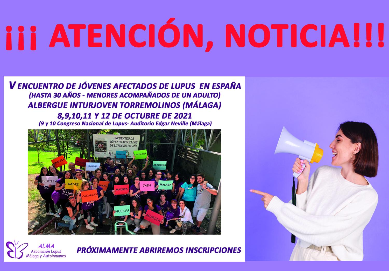 V Encuentro de Jóvenes afectados de Lupus en España