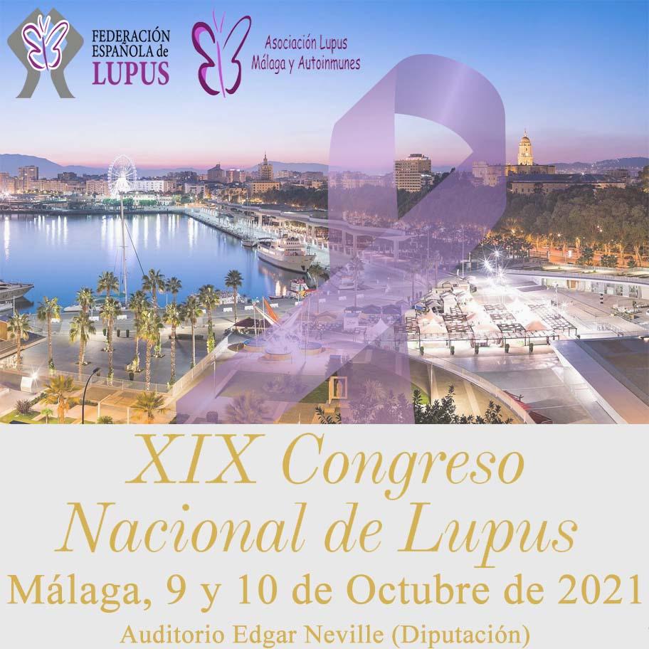 XIX Congreso Nacional de Lupus – Málaga 2021