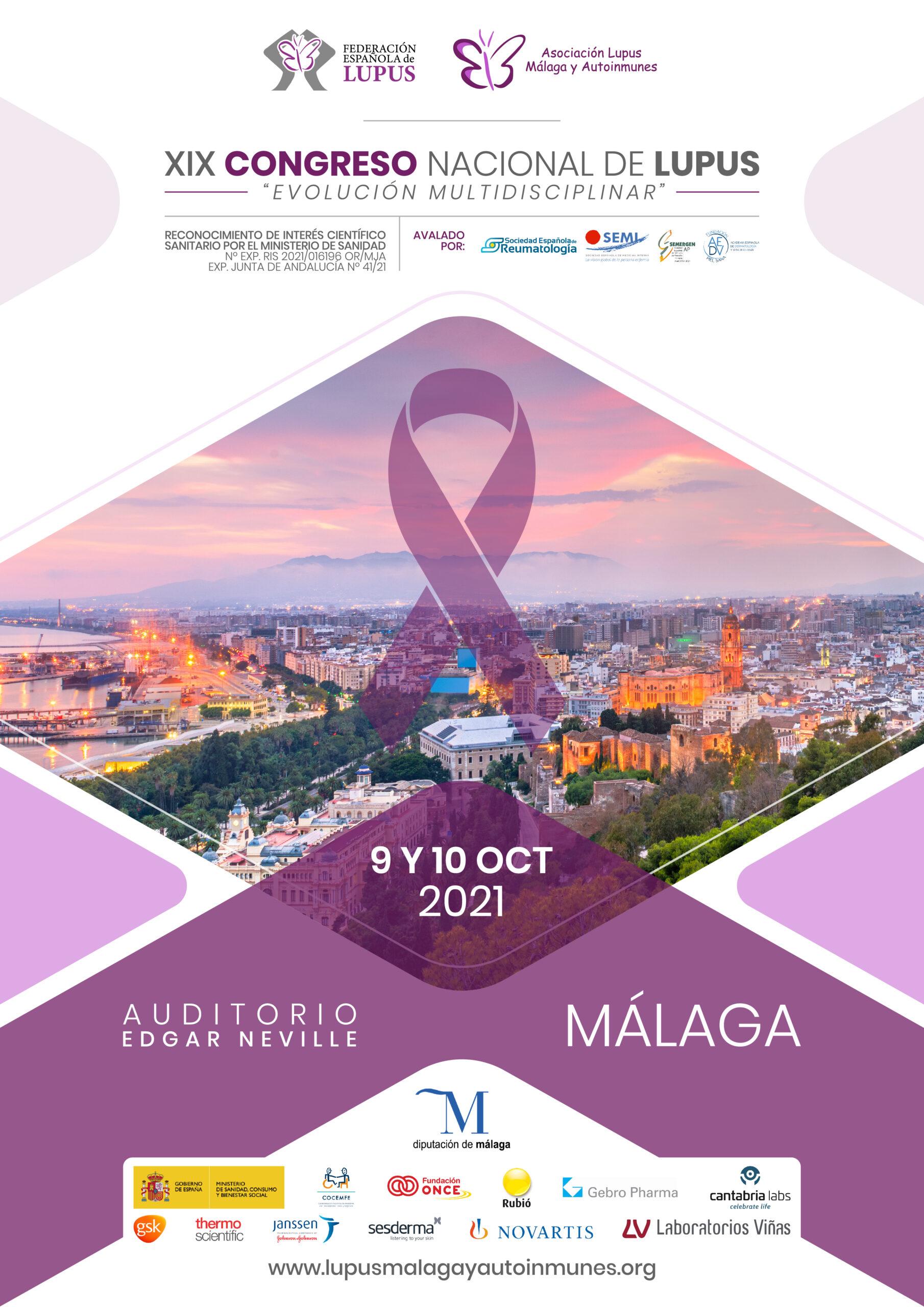 Programa XIX Congreso Nacional de Lupus